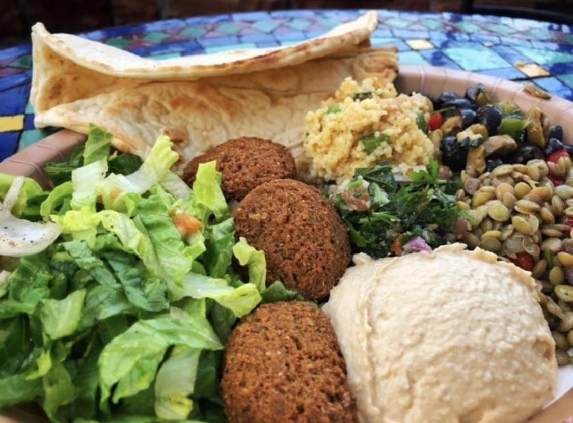 falafel at Epcot