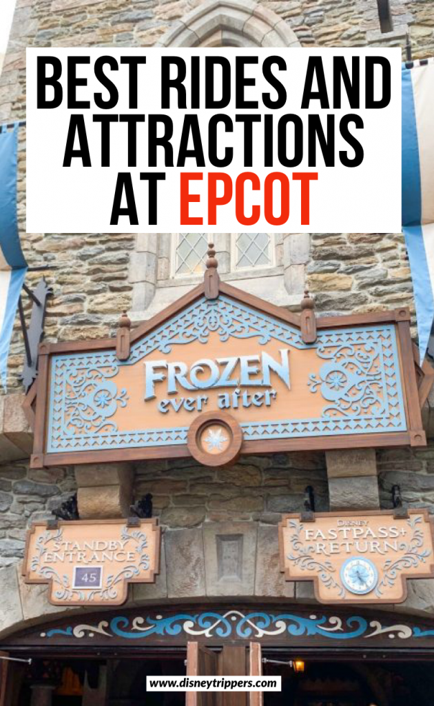 best rides and attractions at epcot