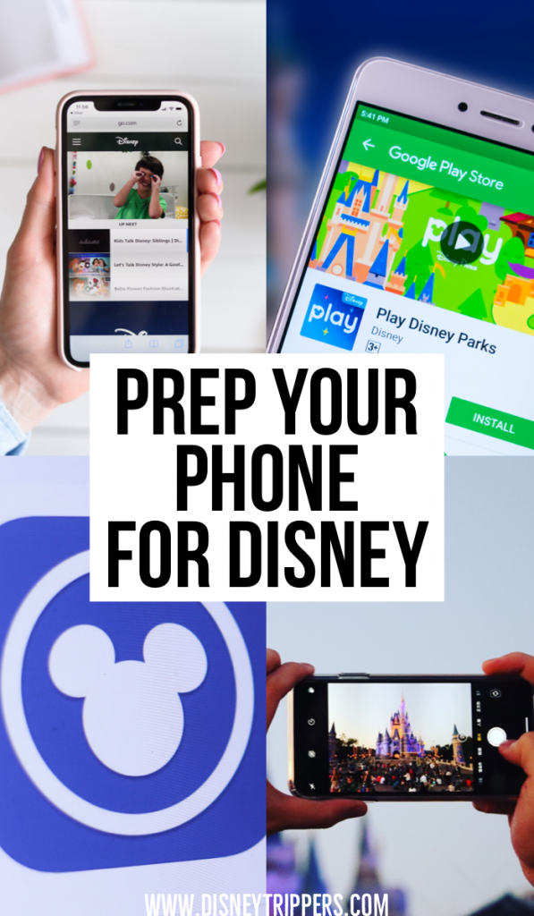 Prep Your Phone For Disney