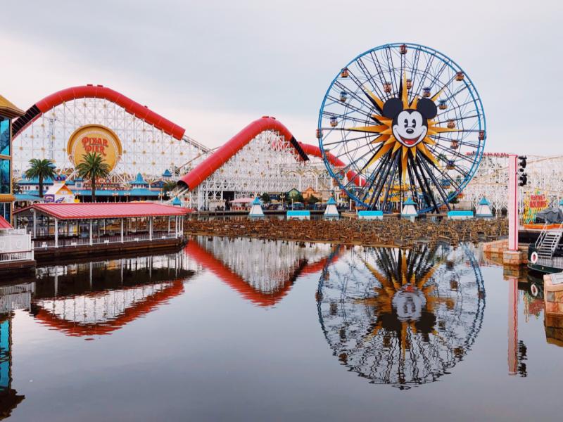 California Adventure Pixar Pier