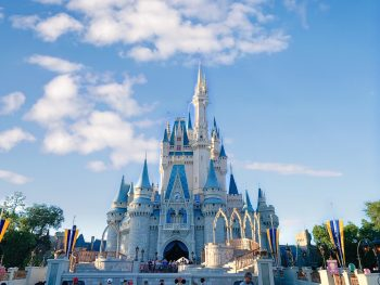 Photo of Cinderella's Castle at Walt Disney World
