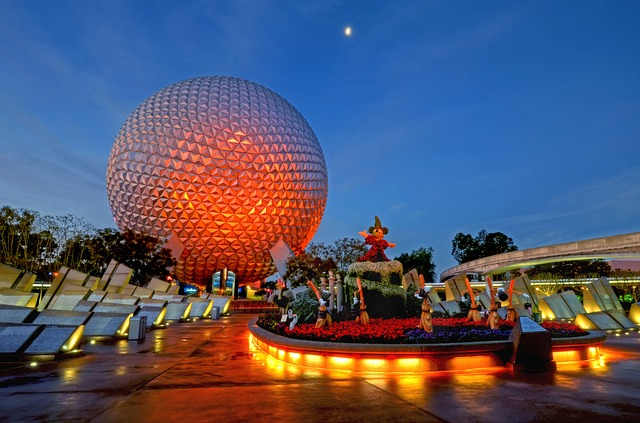 Photo of event at Epcot in Disney World.