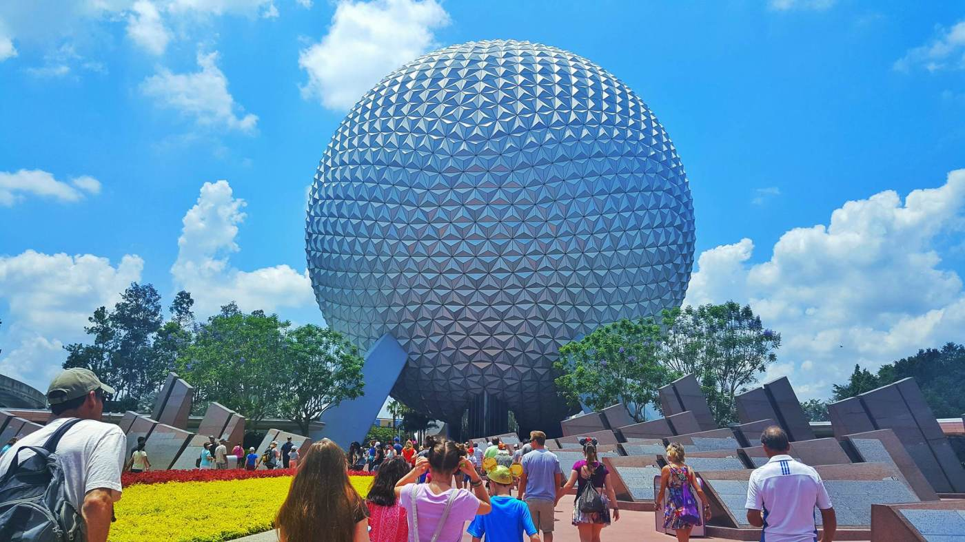 Photo of Epcot at Walt Disney World using the Disney Crowd Calendar