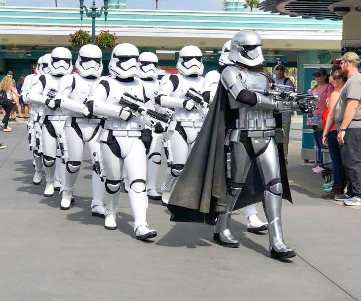 Photo of Storm Troopers at Disney World