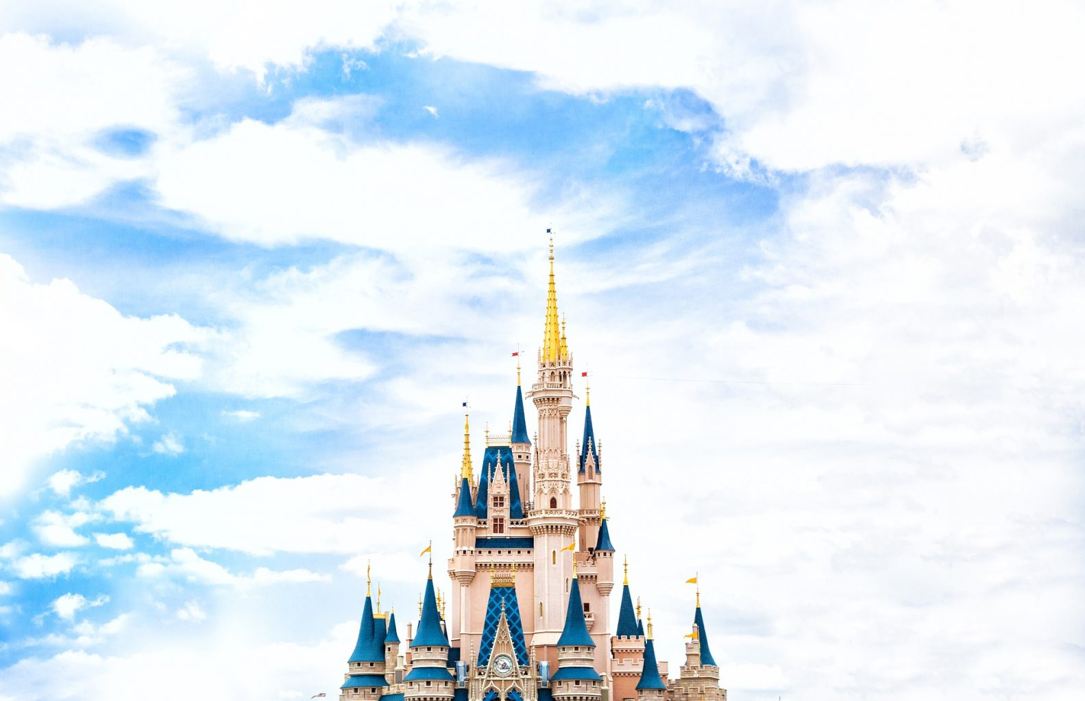 The Castle at Magic Kingdom is iconic!