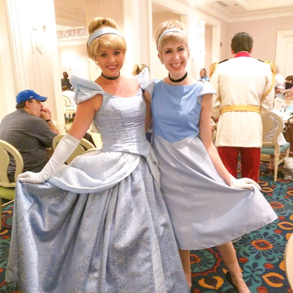 Cinderella Disneybound inspiration outfit for Disney