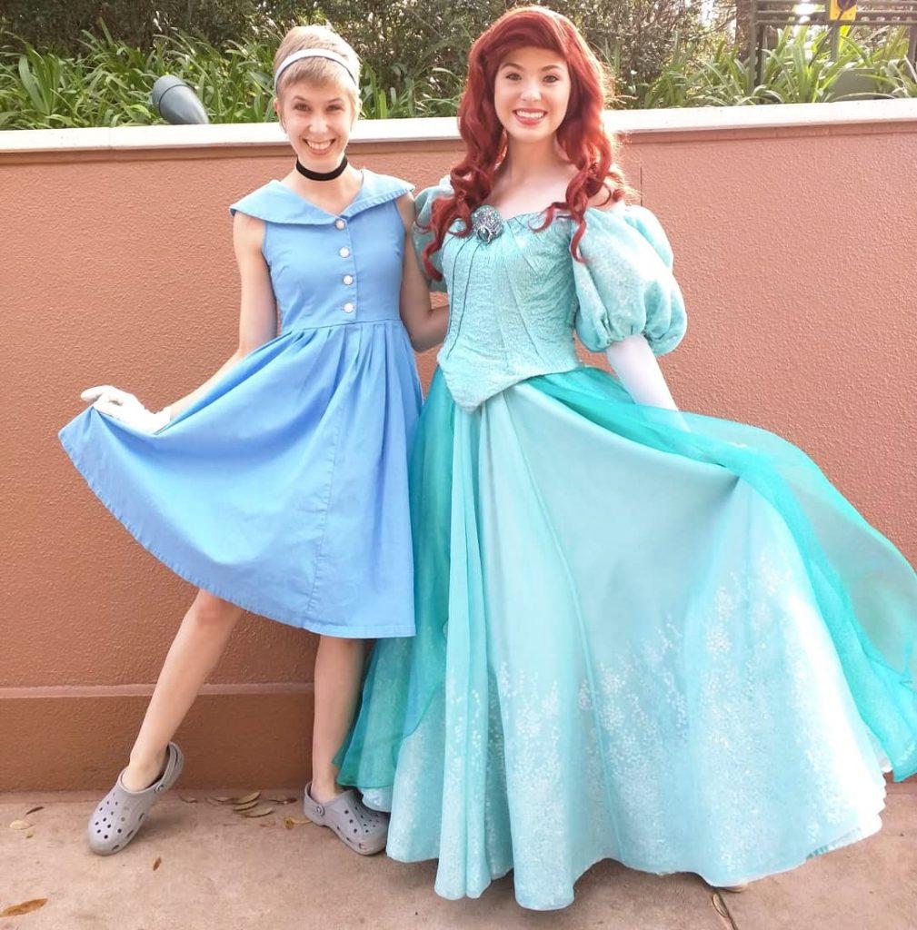 Cinderella Disneybound with Arielle princess