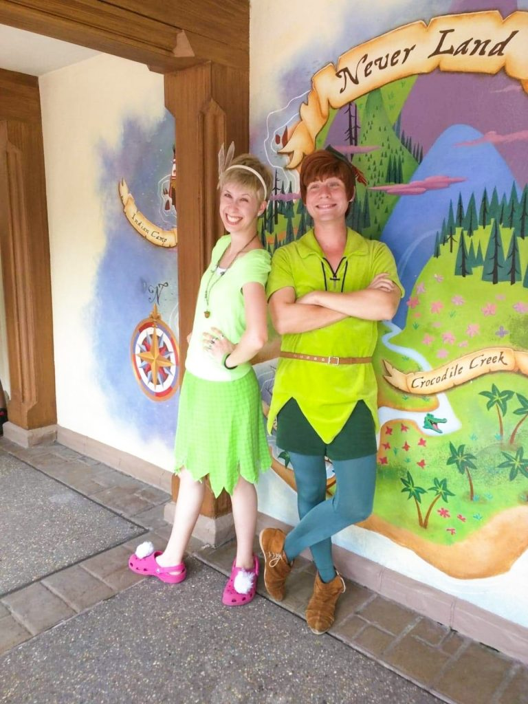 Peter Pan Disneybound outfit inspiration for adults