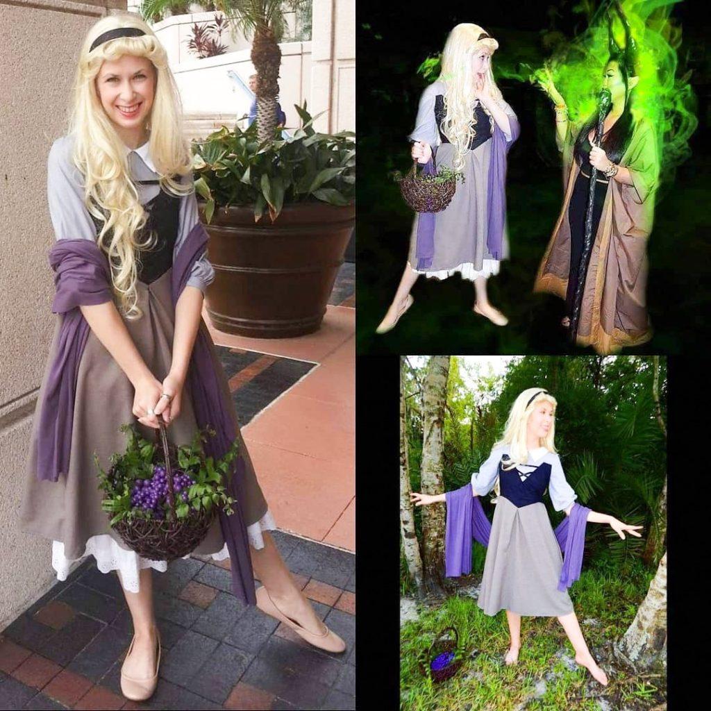 Briar Rose Disneybound inspiration