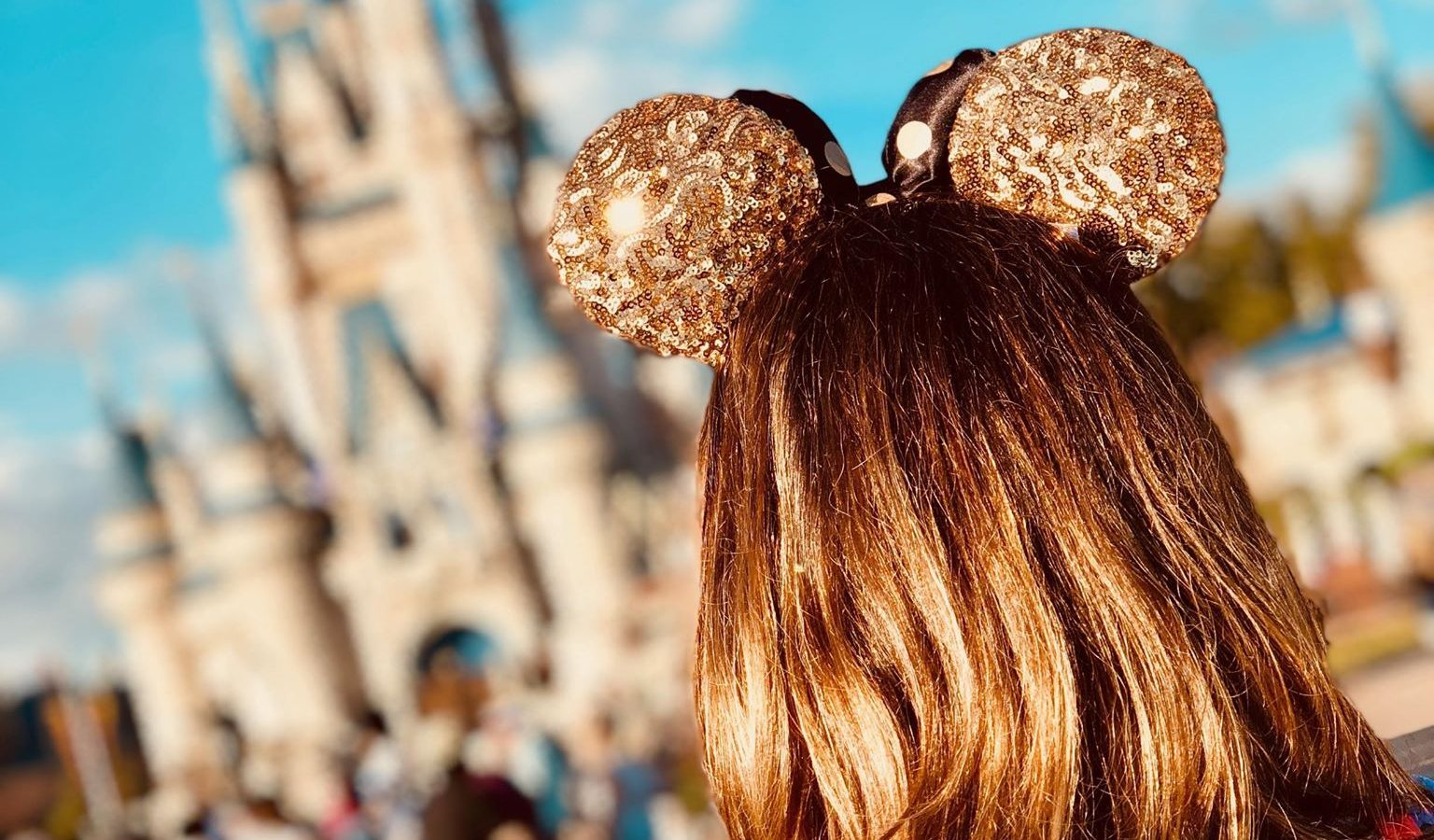 Disney ears and the castle are a must take photo!