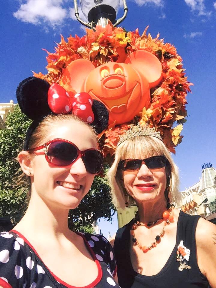 Selfie At Disney during Halloween