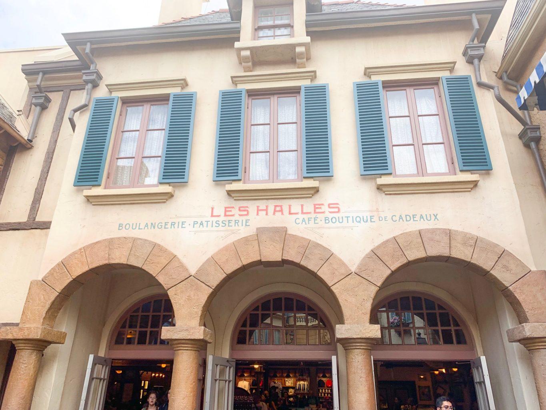 Les Halles Boulangerie Patisserie Epcot quick service in France