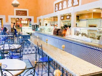 Les Halles Boulangerie Patisserie Epcot quick service dining area