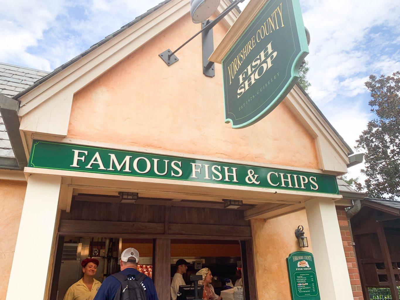 Yorkshire County Fish Shop United Kingdom Epcot quick service