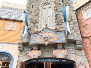 frozen ever after is one of the best rides at epcot