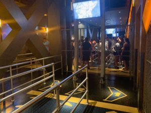 soarin is a fun ride at epcot with an interactive queue