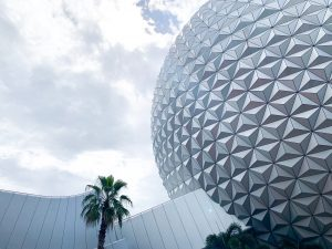 spaceship earth is one of the best rides at epcot!
