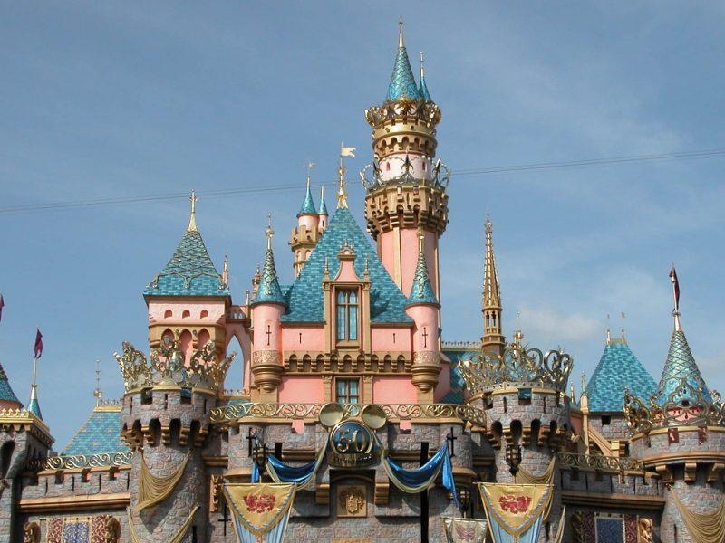 Disneyland Crowd Calendar Sleeping Beauty Castle