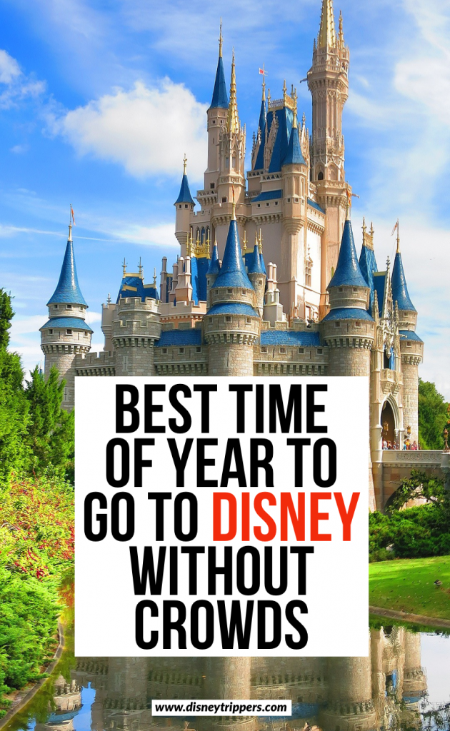 Best Time Of Year to Go To Disney Without the Crowds