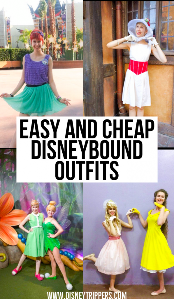 12 Easy And Cheap Disneybound Outfits For Women | what to wear to Disney | Cute Disneybound outfits | Disneybound Ariel | Disneybound snow white | Disney costumes for adults | best clothes to wear to Disney | what to wear to Disney parks | #disney #disneybound
