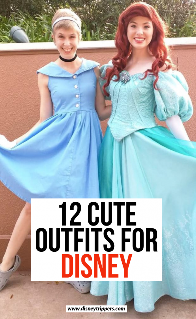 12 Cute Outfits For Disney | 12 Creative And Easy Disneybound Outfits For Women | what to wear to Disney | what to pack for Disney | cute disney outfits for women | tips for dressing up for Disney | disneybound tips | how to pack for Disney | Disney packing tips | what to wear at Walt Disney World | Disney travel tips #disney