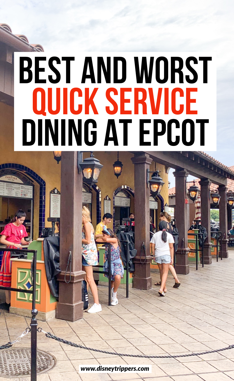 Best And Worst Quick Service Dining At Epcot | 12 Best And Worst Epcot Quick Service Restaurants You Must Try | cheap places to eat at Epcot | where to eat at Epcot | best counter service at Epcot | counter service dining at Disney | best disney quick service | where to eat at epcot | best food at epcot