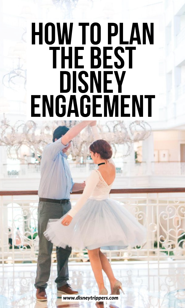 how to plan the best disney engagement