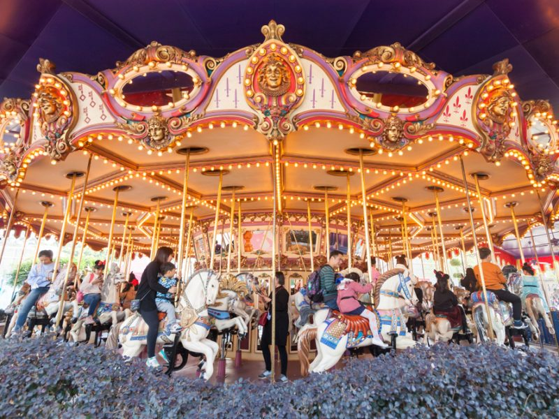 Disneyland carousel