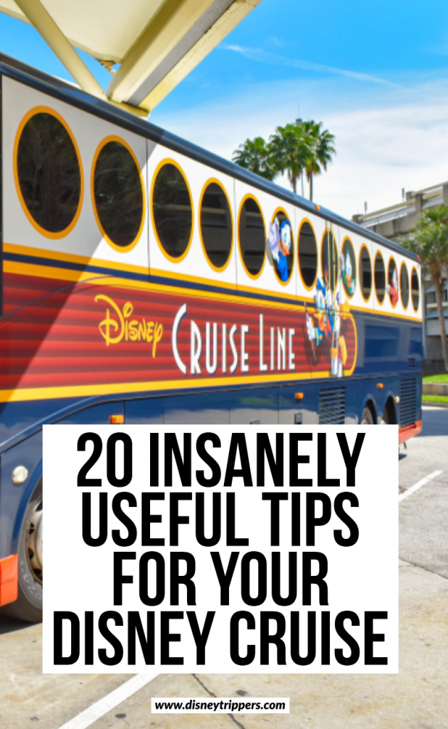 20 insanely useful tips for your disney cruise