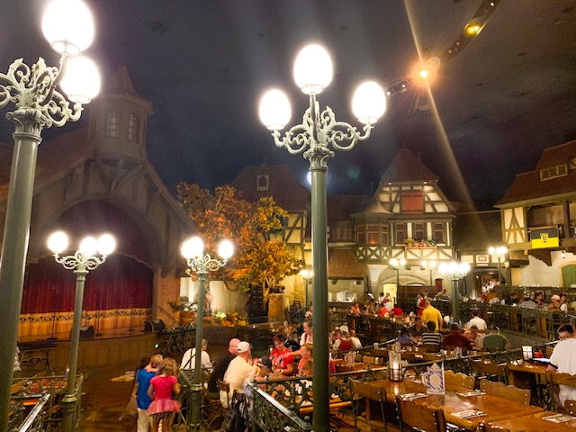 restaurant inside Germany at Epcot