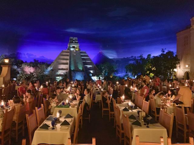 Inside Mexico Pavilion
