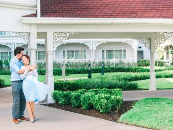 Disney engagement at Grand Floridian Resort
