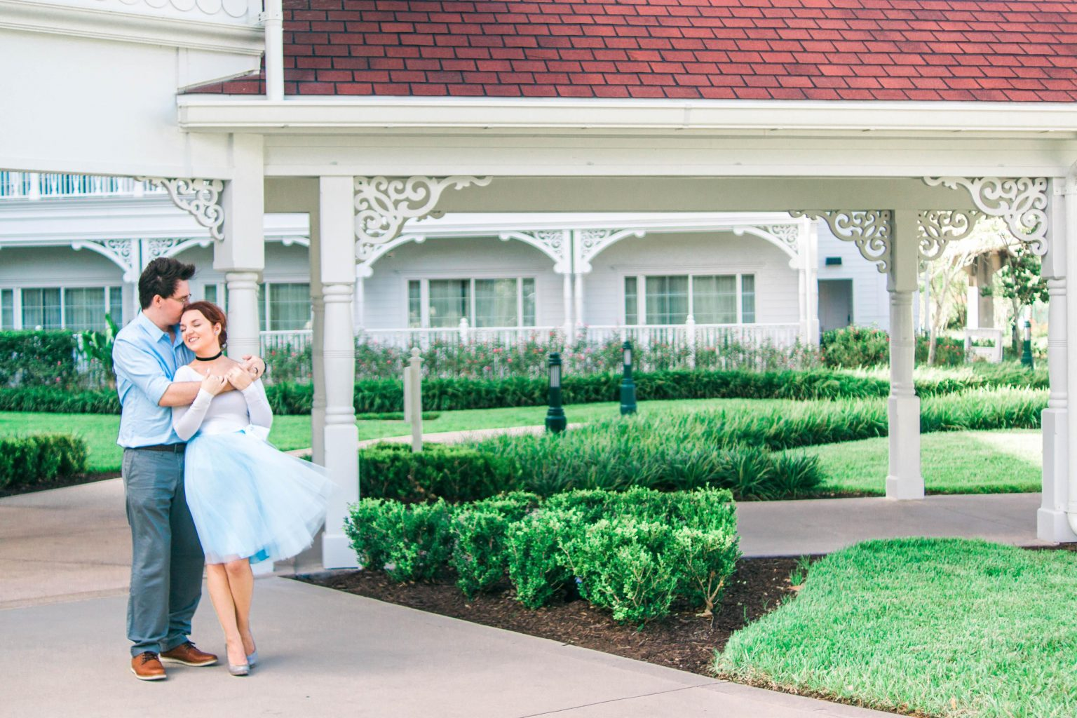 Disney engagement at Grand Floridian Resort