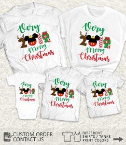 Very Merry 2019 Christmas shirts