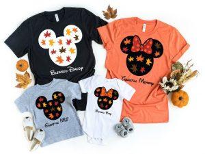 fall inspired Disney Family Shirts