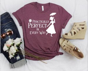 purple Mary Poppins shirt Disney shirts for women