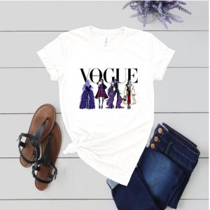 Vogue shirt with four Disney villains Disney shirts for women