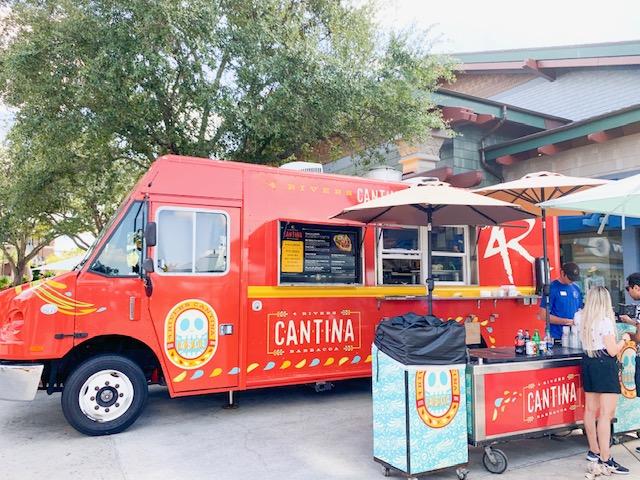Disney Springs Restaurants Cantina food truck exterior