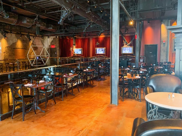 Disney Springs Restaurant Edison Interior Dining Area
