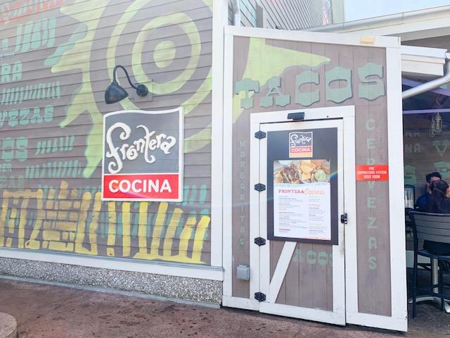 Taco Entrance for Frontera Cocina at Disney Springs