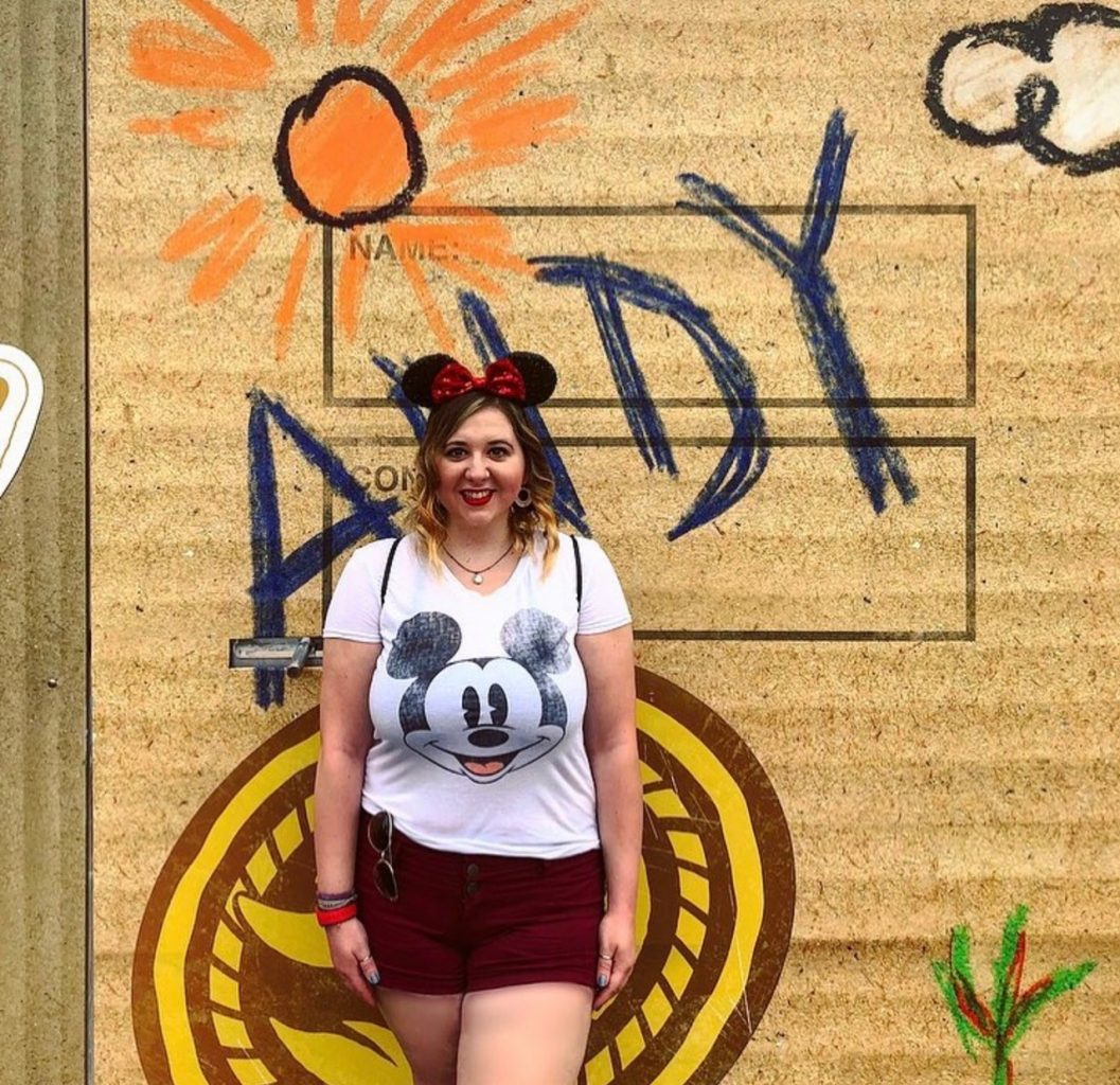 Andy's Wall at Disney's Hollywood Studios for a cute instagram pose