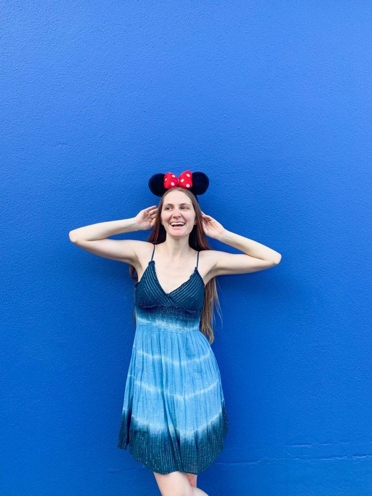Buzz Lightyear Blue Wall at Magic Kingdom