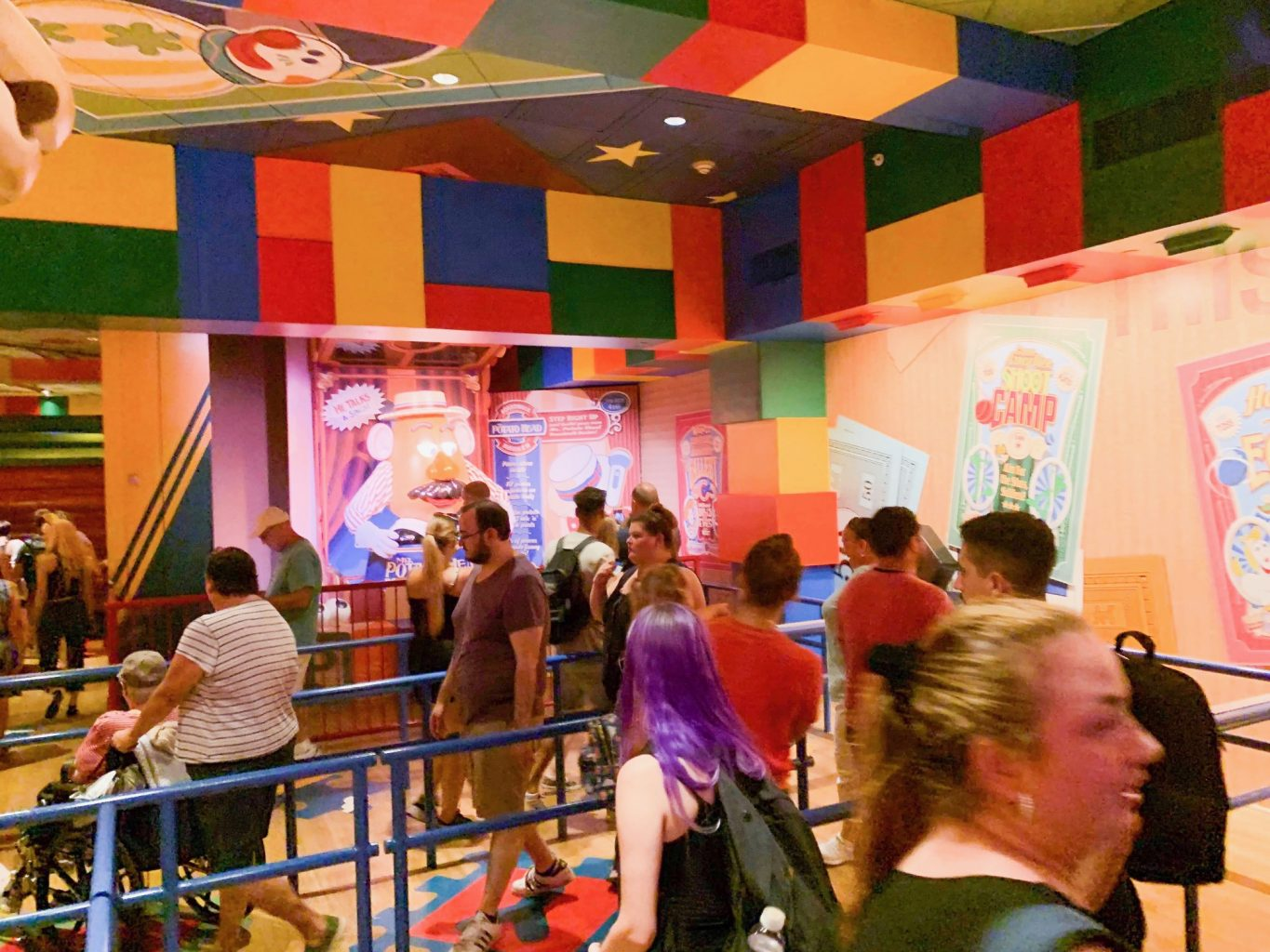 Difficult lines at Disney with autism guests