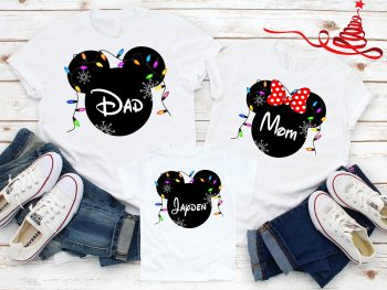 Matching christmas family Tshirts for Disney