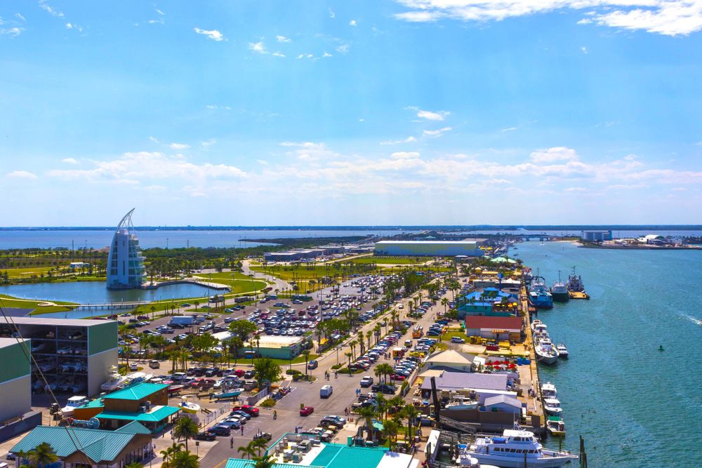 Disney cruise terminal at Port Canaveral