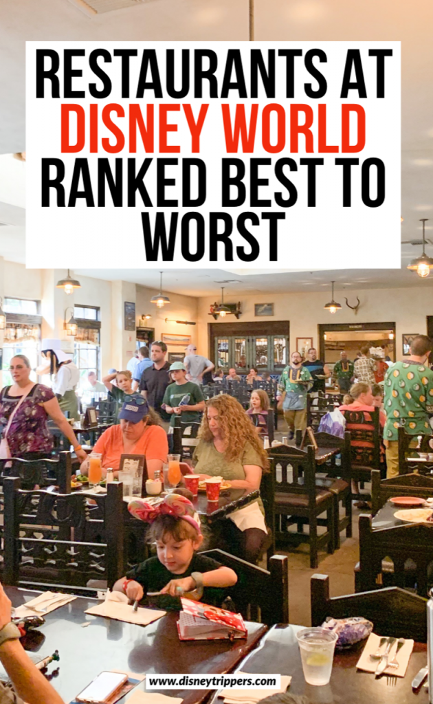 33 Best (and Worst!) Disney World Restaurants in 2019 | Restaurants At disney world ranked best to worst | where to eat at Disney | best Walt disney World dining options | dining at Disney | tips for eating at Disney | where to eat at Disney | best Disney world food | best restaurants at disney world #disney #disneyfood #disneytips