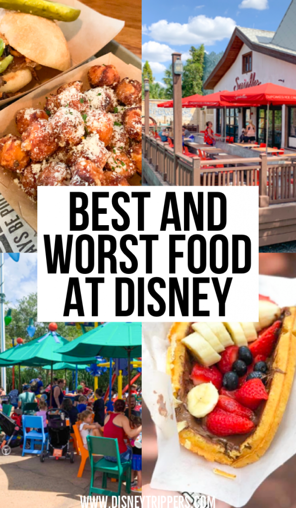 Best And Worst Food At Disney | What to eat at Disney | best food to eat at Disney world | where to eat at Disney World | best restaurants at Disney world | tips for eating at Disney | best dining options at disney | tips for planning a trip to Disney world | disney world food | disney travel tips #disneyfood #disneyworld