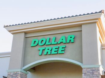 exterior of Dollar Tree Store