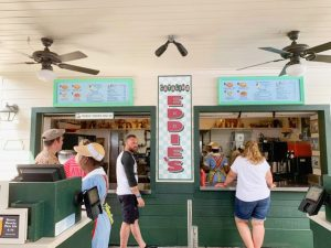 quaint ordering area for Catalina Eddie's Hollywood Studios quick service