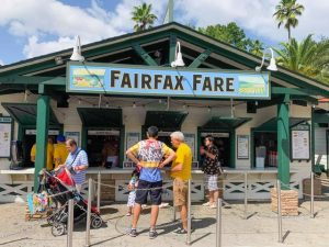 farm-inspired ordering area of Fairfax Fare Hollywood Studios quick service